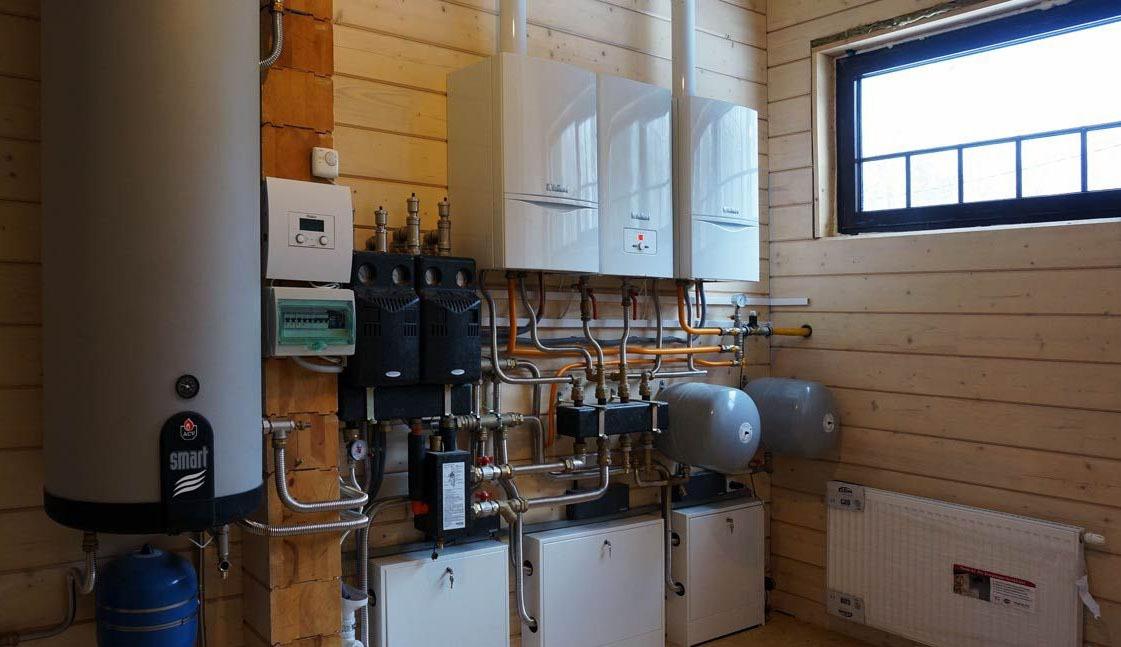 Монтаж инженерных систем в деревянном доме